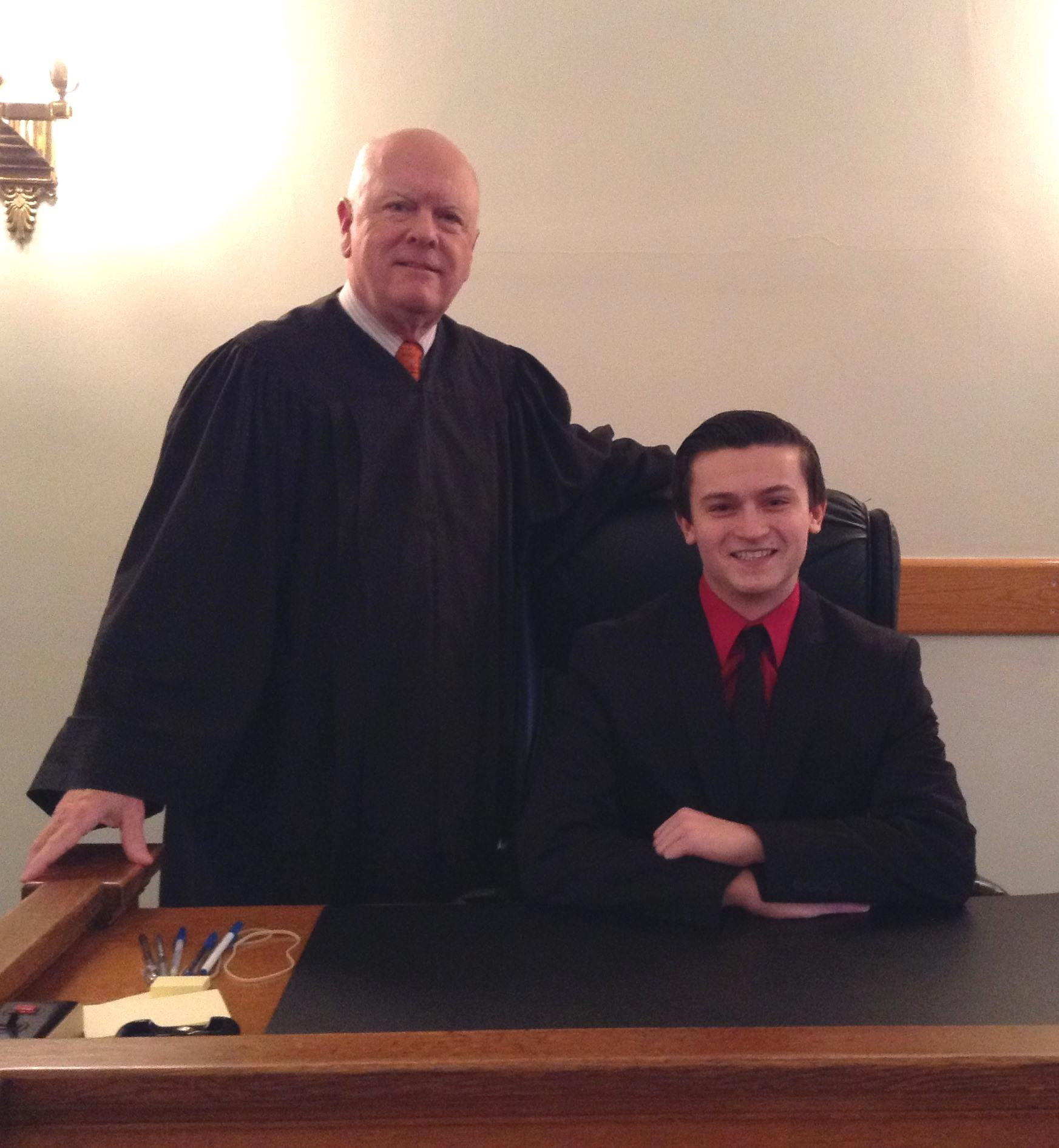 Judge McD and Colton