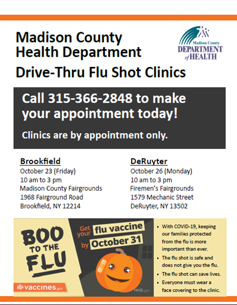 Drive-Thru Flu Shot Clinics