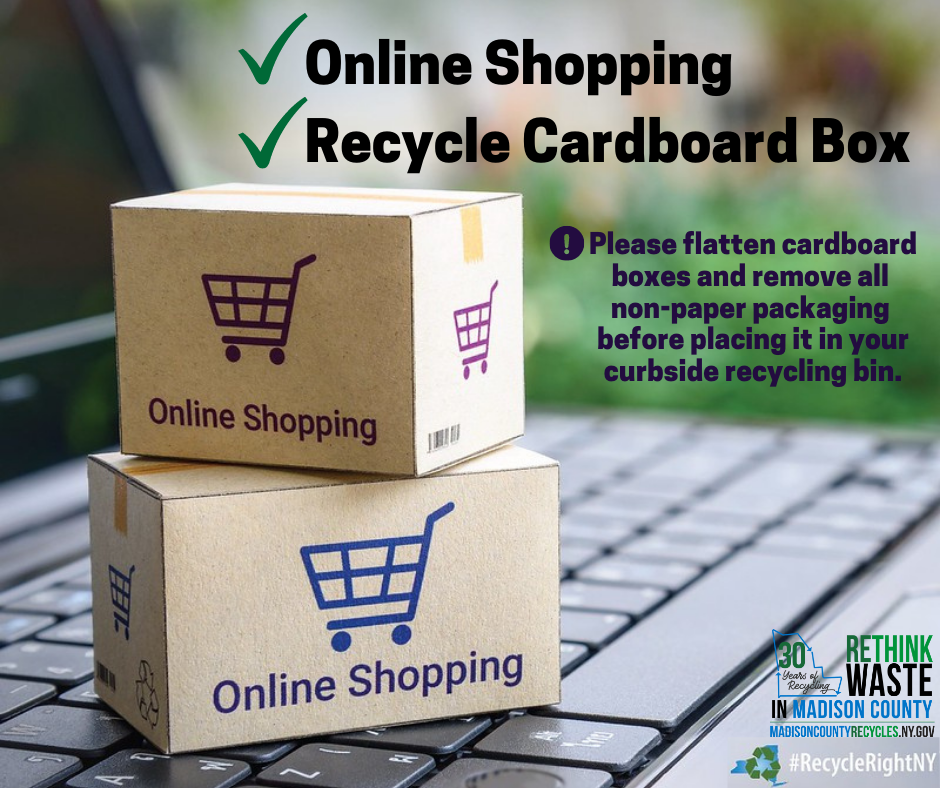 2020 Online Shopping Recycling Cardboard Boxes