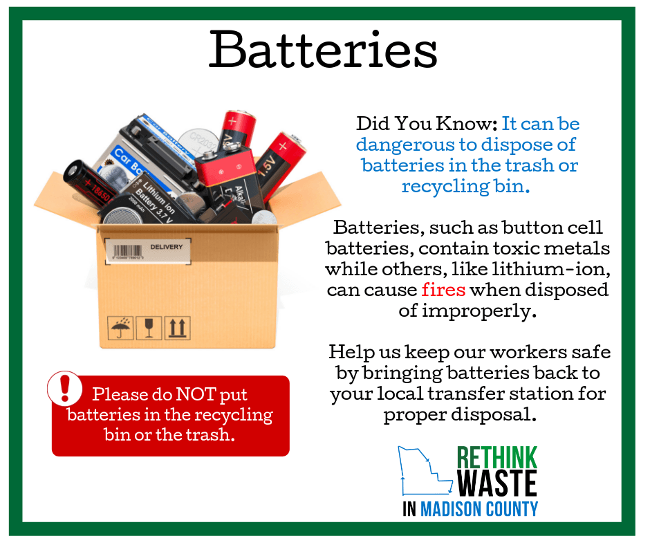 Updated Battery Recycling FB Post