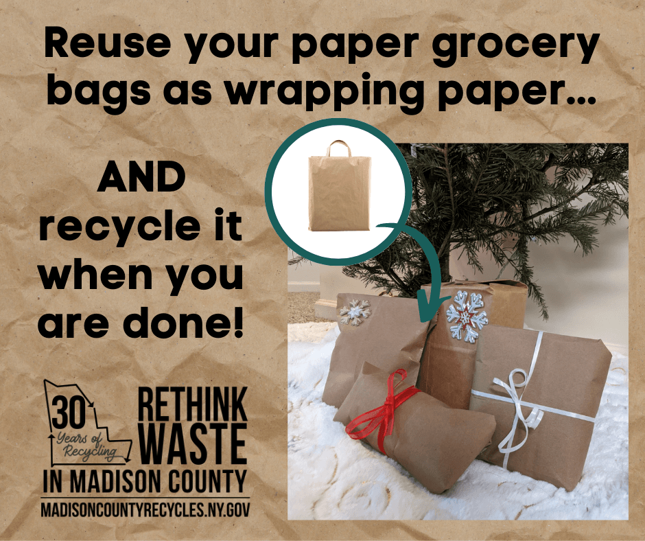 Reuse Paper Grocery Bags