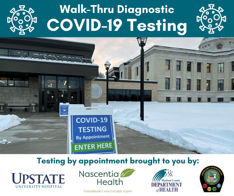SUNY Upstate brings COVID-19 Mobile Testing Clinic to Madison County