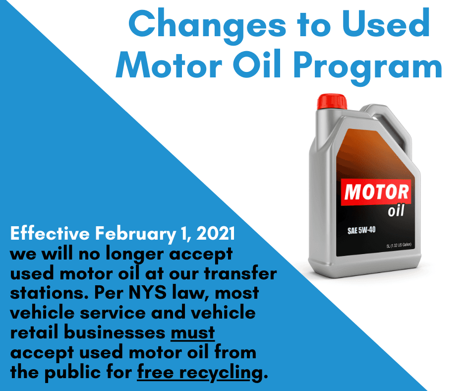 Used Motor Oil Changes