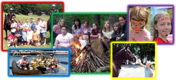 Sheriff Summer Camp Collage