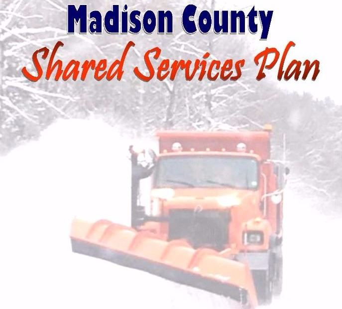 This image is the cover of the Madison County Shared Services Plan