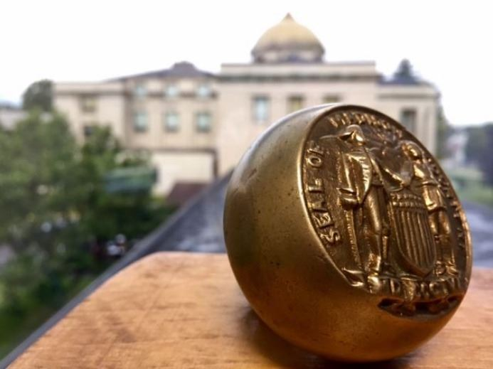 Photo of Courthouse Doorknob 1806