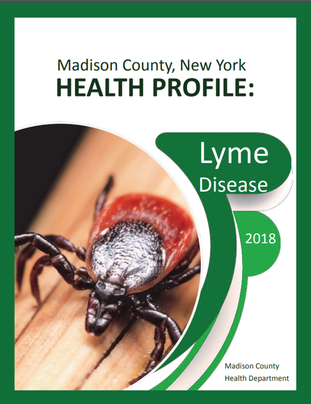 Thumbnail image of Madison County&#39s Lyme Disease Health Profile Cover