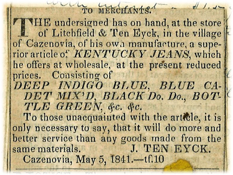 Kentucky Jeans Advertisement