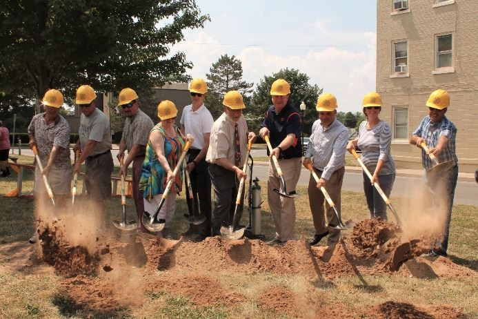 Oneida Rail Trail ground breaking ceremony