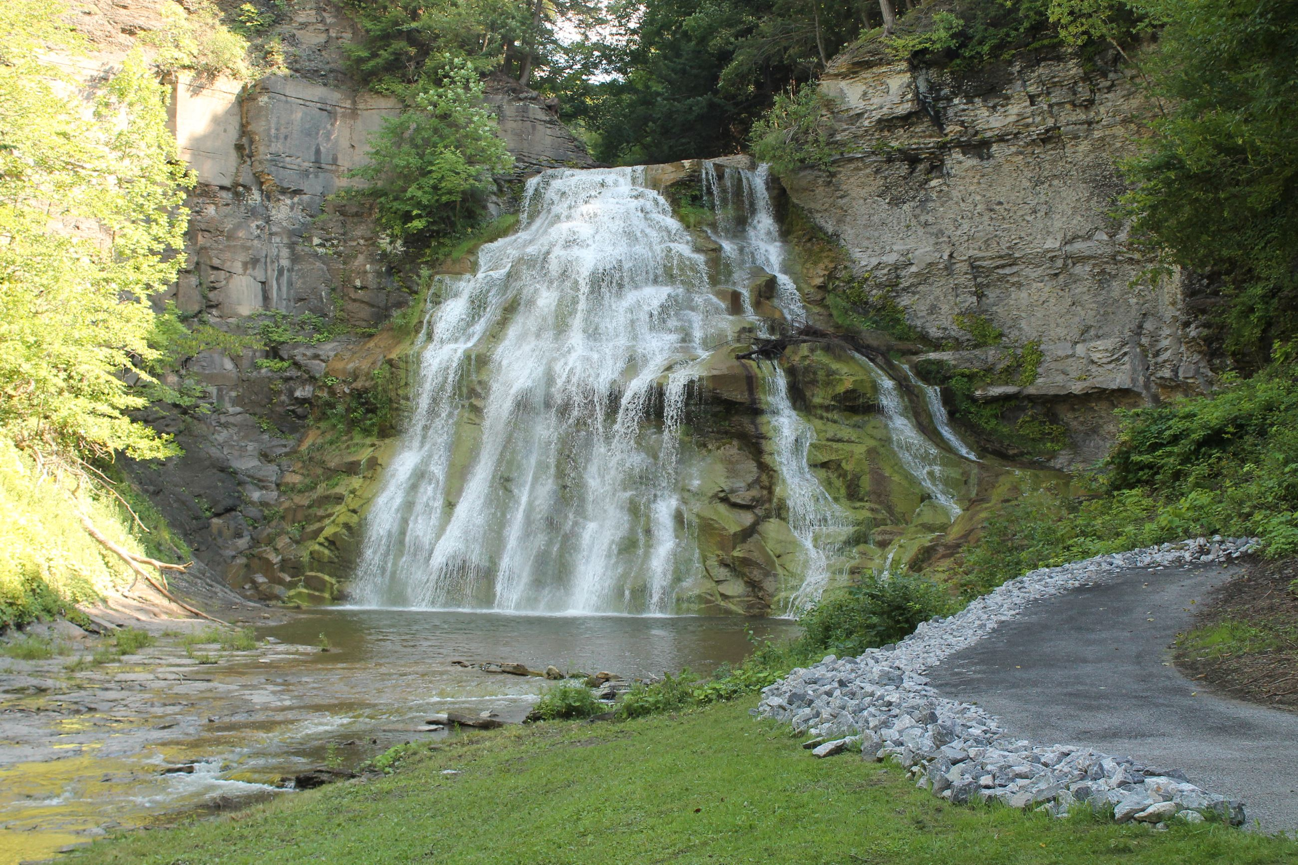 Delphi Falls - Courtesy: Madison County