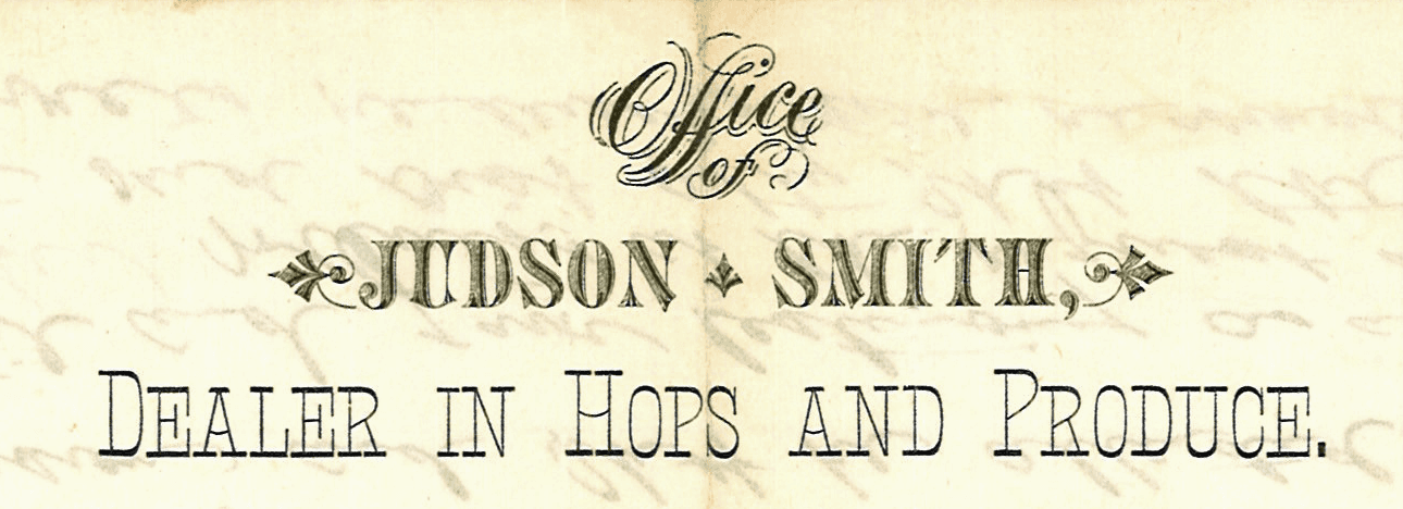 Judson Smith Letterhead