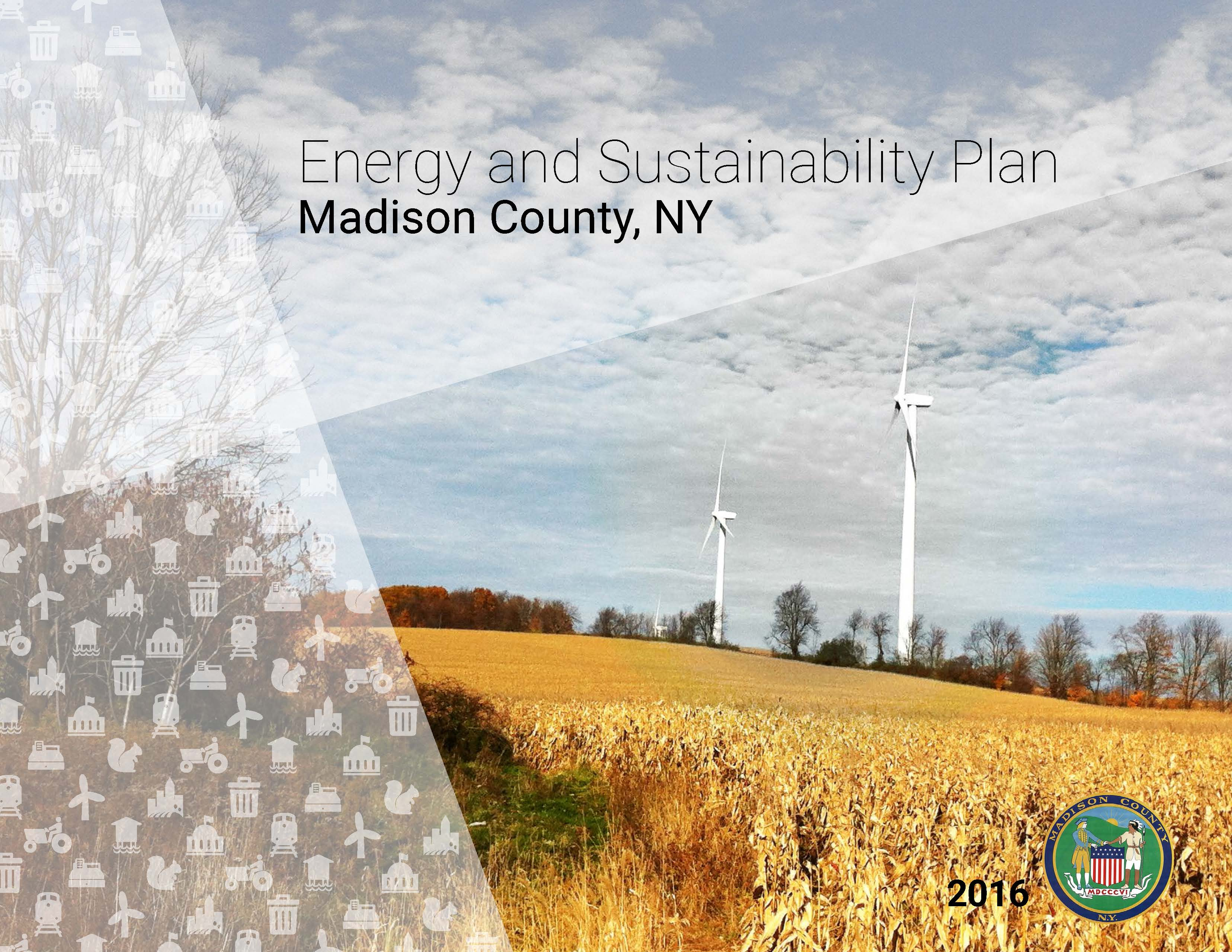 Energy and Sustainability Plan cover