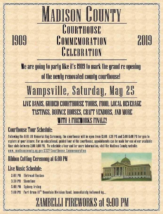 Courthouse Celebration Poster
