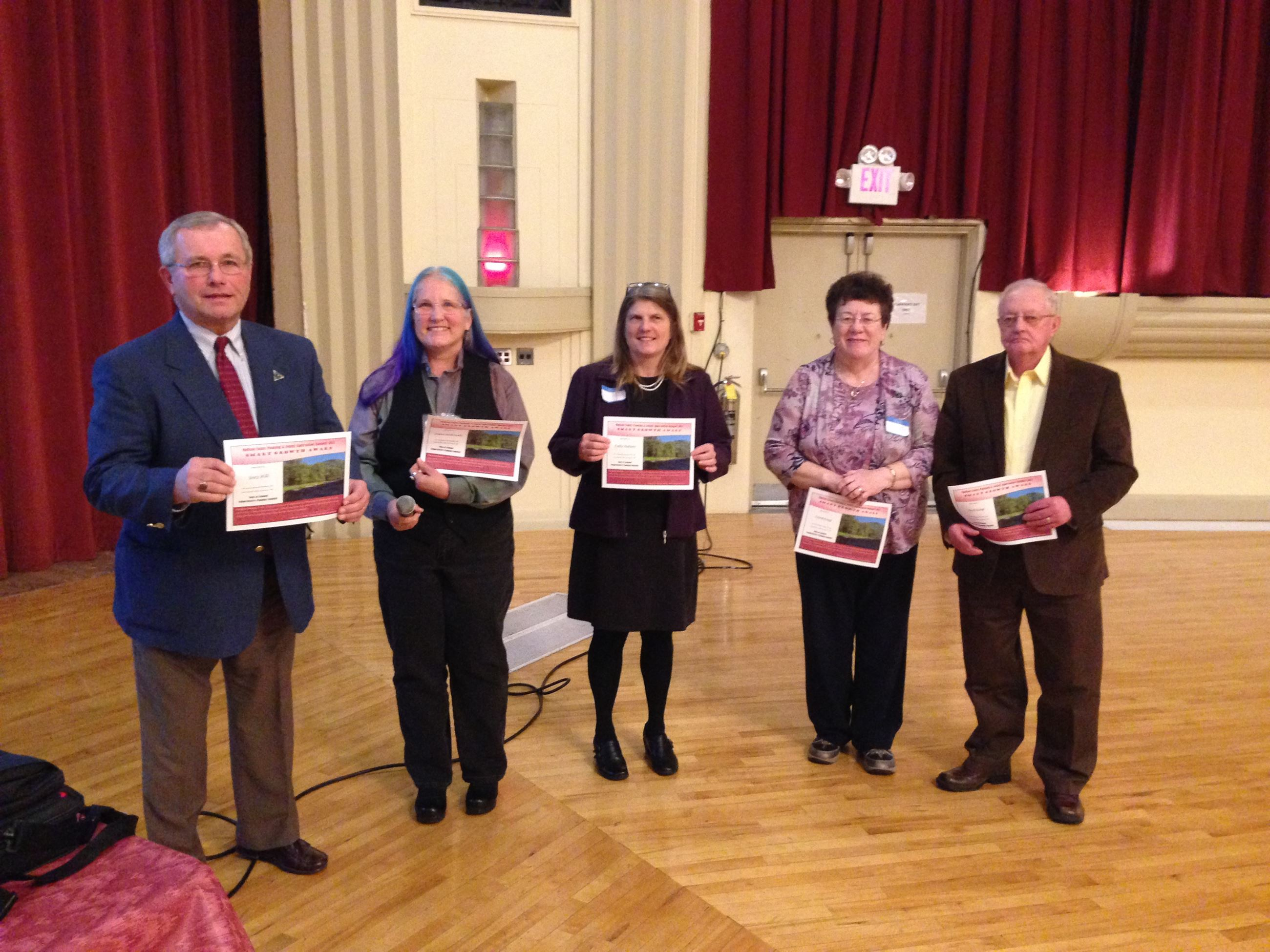 Town of Lebanon Comprehensive Planning Committee award members
