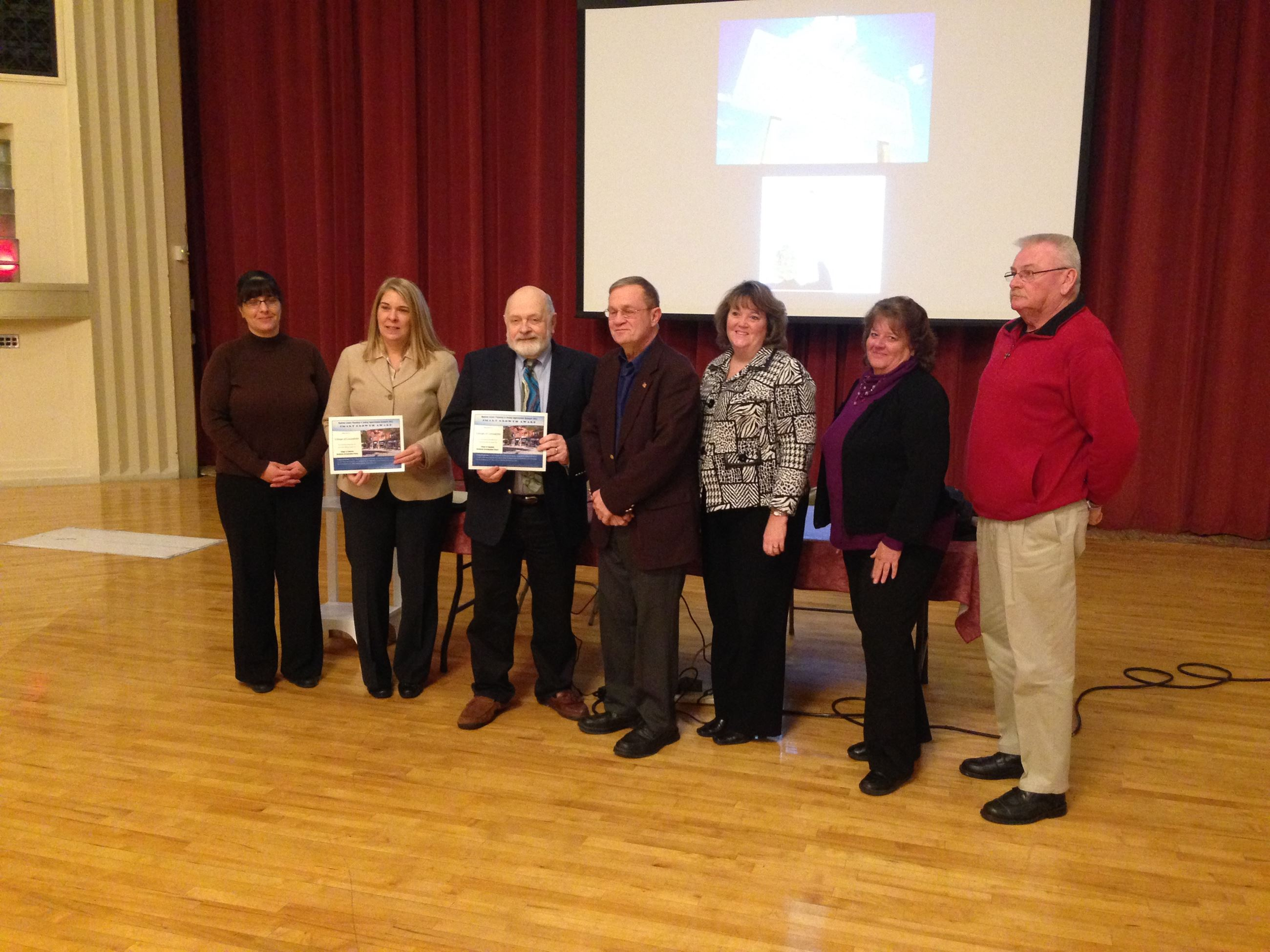 Village of Canastota award members