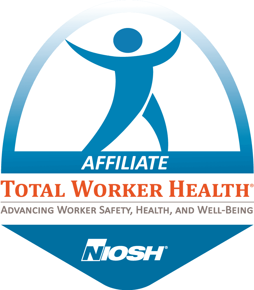 NIOSH Total Worker Health Official Affiliate Badge-color