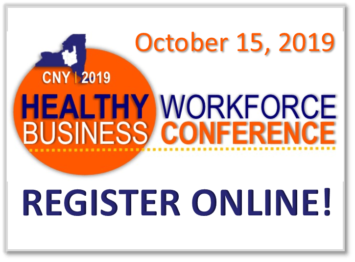 Healthy Workforce News Flash