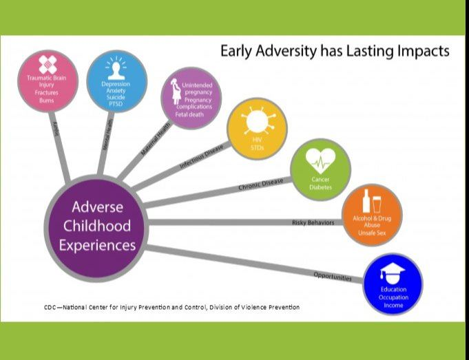 Adverse Childhood Experiences Diagram of Lasting Impacts