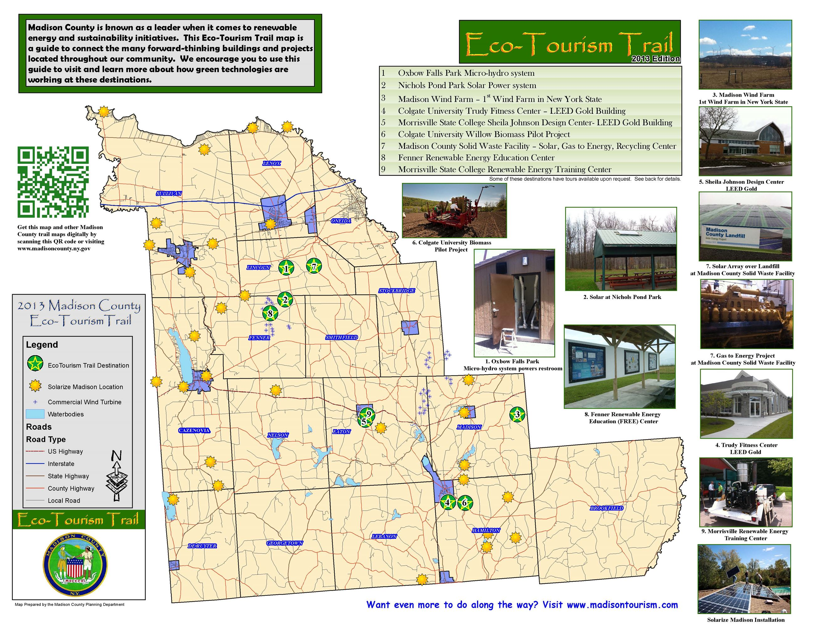 Madison County Eco-Tourism Trail Map