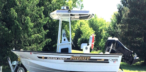 Madison County Sheriff Boat