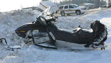 Madison County Sheriff Snowmobile