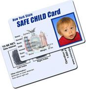 Safe Child Card