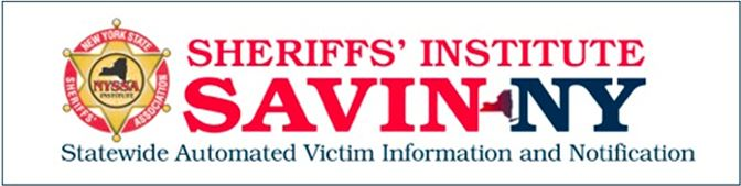 Statewide Automated Victim Information and Notification Logo